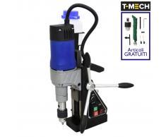 T-Mech Taladro de Base Magnética de 230 V Prensa Adaptador de Cortador Anular