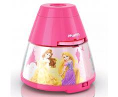 Philips Proyector y luz de noche 2 en 1 Princesas Disney rosa 717692816