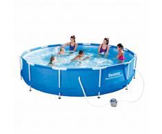 Bestway Conjunto de piscina Sirocco redondo azul 366 cm 56416
