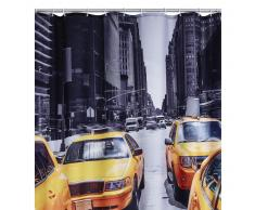 RIDDER Cortina de ducha New York poliéster 180x200 cm