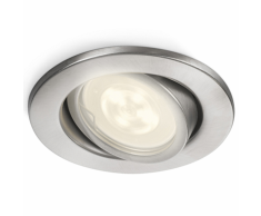 Philips myGarden Foco LED empotrable Fresco 5 W plateado 172894716