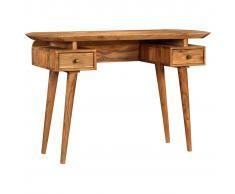 vidaXL Escritorio de madera de acacia maciza 120x50x77 cm