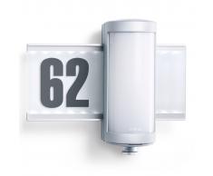 Steinel Aplique de exterior con LED y sensor, L625