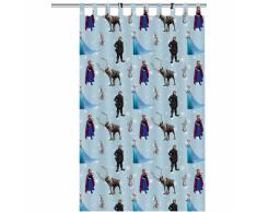 Disney Cortina infantil Frozen 250x140 cm azul ASSO234007
