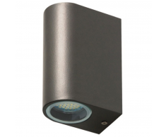Ranex SMARTWARES Lámpara de pared LED bidireccional 6 W gris 5000.331
