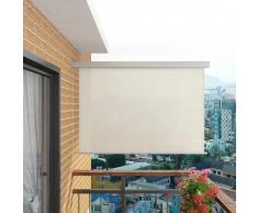 vidaXL Toldo lateral de balcón multifuncional 180x200 cm crema
