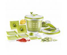 Enrico Cortador de verduras Salad Chef verde