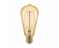 EGLO Bombilla LED ajustable Golden Age 4 W 6,4 cm 11696