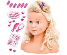 Bayer Set para peinar muñecas Super Model 27 cm 90005AB