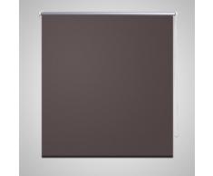 vidaXL Estor Persiana Enrollable 120 x 230 cm Café