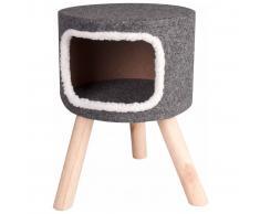 FLAMINGO Cama de gato Nordic 35x50 cm gris