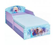 Disney Cama infantil con 2 cajones Frozen 140x70 cm WORL234024