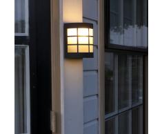 Luxform Lámpara de pared para jardín Canterbury 230 V