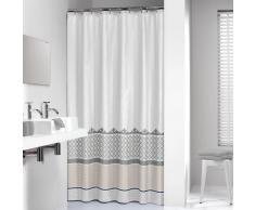 Sealskin cortina de ducha 180 cm modelo Marrakech 235281318 (Plateada)