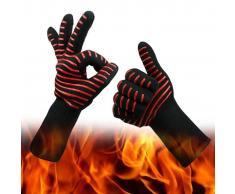 TRIBALSENSATION Juego de 2 guantes de horno Premium hasta 500
