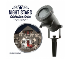 Night Stars Foco LED Holiday Charms 6 proyecciones 12 W NIS004