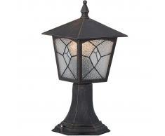 GLOBO Lámpara de pie exterior ATLANTA aluminio negra 3127