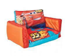 Disney Sofá desplegable 2 en 1 Cars naranja 105x68x26 cm WORL320023