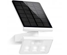 Steinel Aplique de exterior con LED y sensor, Xsolar L-S, blanco