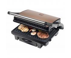Bestron Parrilla grill ASW113CO 1000 W negro y cobre