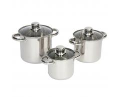 Camp Gear Juego de ollas cocina Royal Plus 1.3/2/3 L 2100940