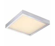 GLOBO Lámpara de techo LED con sensor TAMINA aluminio plateado 41661S