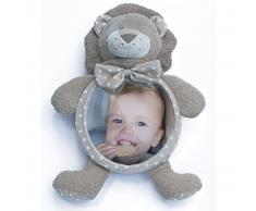 Bo Jungle B-Car & Home Espejo de coche para bebé Kenzi el león B390100