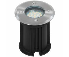 SMARTWARES Foco empotrado de suelo LED 3 W negro 5000.461
