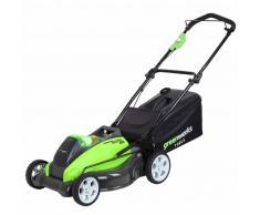 Greenworks Cortacésped sin batería de 40 V G40LM45 45 cm 2500107