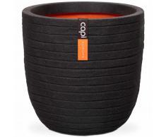 Capi Macetero Nature Row 54x52 cm negro PKBLRO935