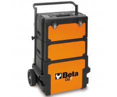 Beta Tools caja de herramientas con ruedas C42H naranja 042000002