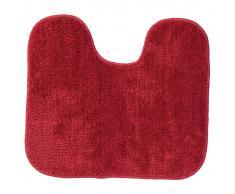 Sealskin Alfombra de baño con pedestal Doux roja 294428459, 45 x 50 cm
