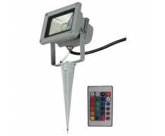 Luxform Foco LED para jardín Ceres con mando a distancia 230 V