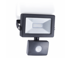 SMARTWARES Foco LED con sensor 10 W negro SL1-B10B