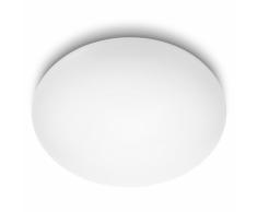 Philips Lámpara de techo LED myLiving Suede blanca 4x10 W 318033116