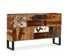 vidaXL Aparador de madera maciza de sheesham 140x30x80 cm