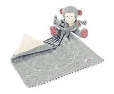 Käthe Kruse Muñeco de toalla Monkey Carlo gris 0174905