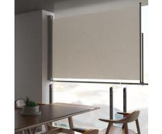 vidaXL Toldo lateral retráctil para patio 160x300 cm crema