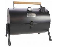 Gusta Barbacoa y ahumador de carbón 2-en-1 negro 03251000