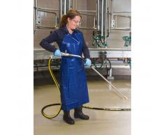 Kerbl Delantal para ordeñar y lavar sintético 125x100 cm azul 15151