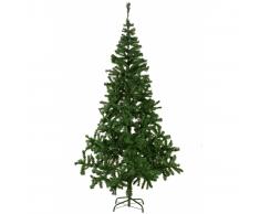 vidaXL Árbol de navidad artificial 210 cm