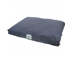 Overseas Cama para perro lona 55x75x10 cm azul marino