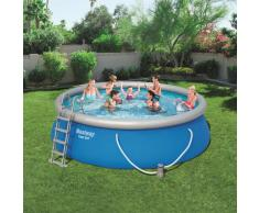 Bestway Piscina redonda inflable Fast Set 457x122 cm 57289