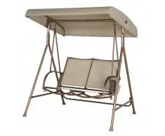 SORARA Outdoor Living SORARA Jardín columpio silla, 2 Personas plazas hamaca
