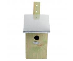 Esschert Design Casa de pájaros con espejo, NKY
