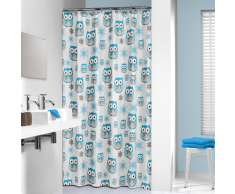 Sealskin cortina de ducha 180 cm modelo búho 210871324 (Azul)