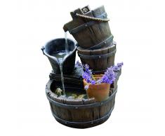 Ubbink Set fuente de agua para jardín Acqua Halifax 1387046