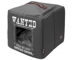 D&D D&D Cama cubo de mascota Wanted 40x40x40 cm gris 671/432327