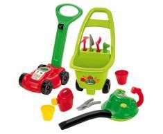 Ecoiffier Set de herramientas de jardín de juguete 3 en 1 rojo 1430301