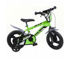 Dino Bikes Bicicleta para niños MTB R88 verde 30 cm DINO356006